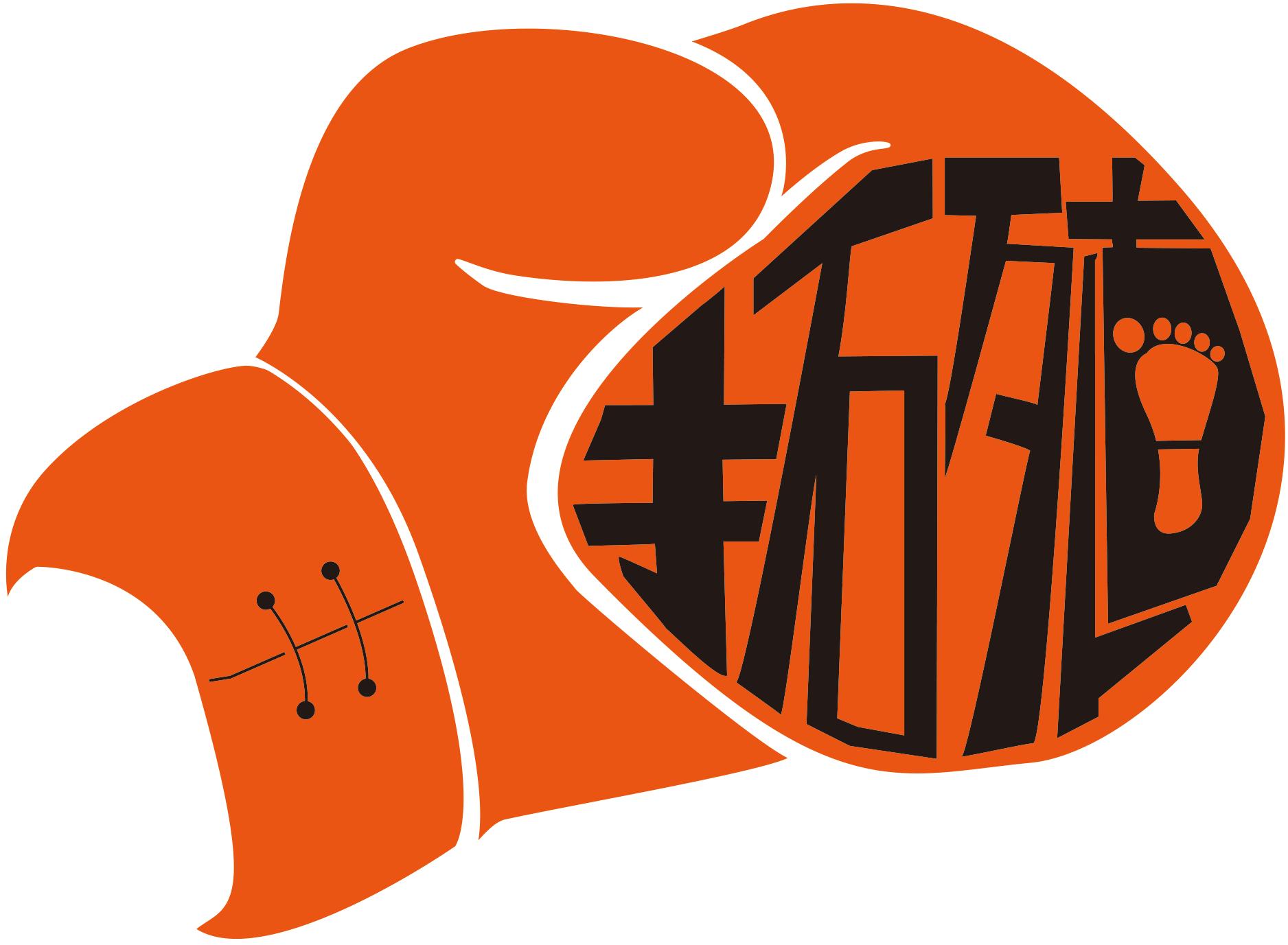 拓大キックのロゴ案