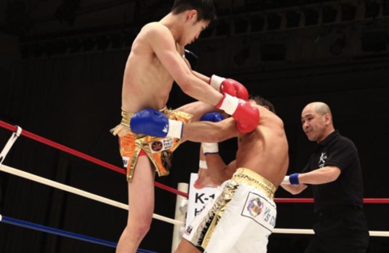 瓦田脩二選手がKrush.97ライト級 勝利!