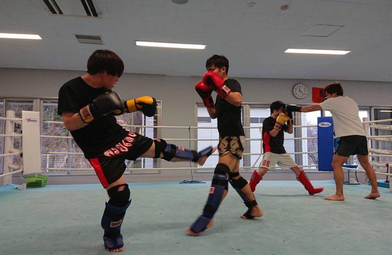 2020年3月14日(土)八王子中島コーチ練習 於:拓大ボクシング部道場